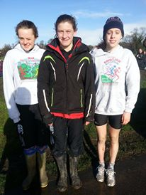 Florrie with Champions Sas and Ellie