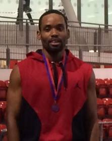 Byron SEAA indoor 200m bronze 2015