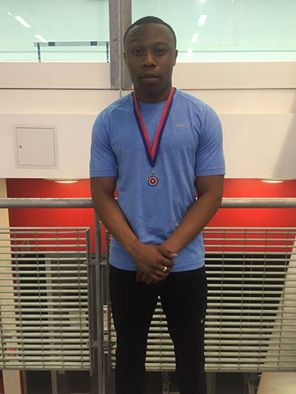 Marvin SEAA indoor 60m champ 2015