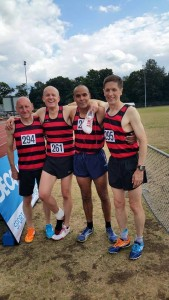 HHH British M50 relay record team