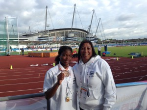 Denisha at UK School Games