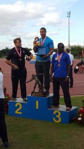 Gavin Johnson-Assoon England javelin champion